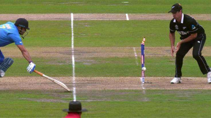 dhoni run out 2019